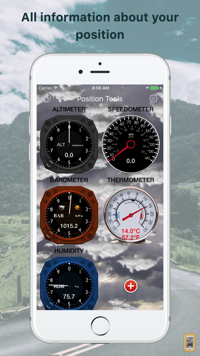 Screenshot - Position Weather Tools