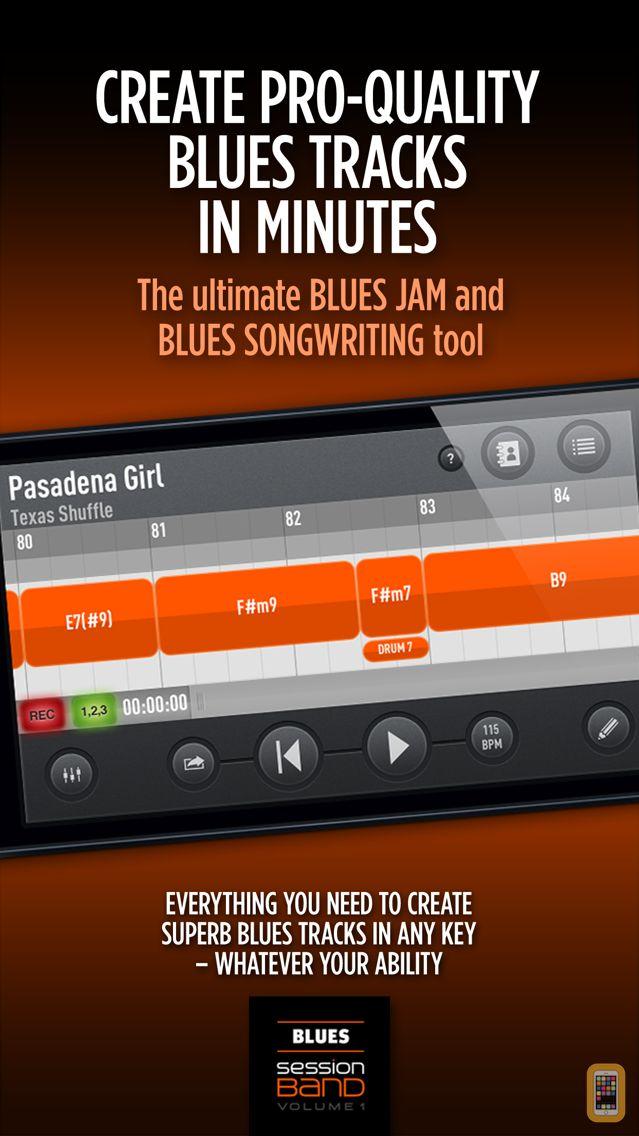 Screenshot - SessionBand Blues 1