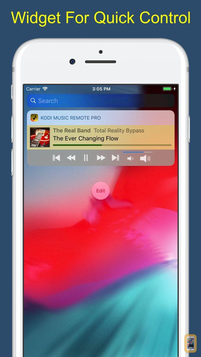 Screenshot - Music Remote Pro for Kodi