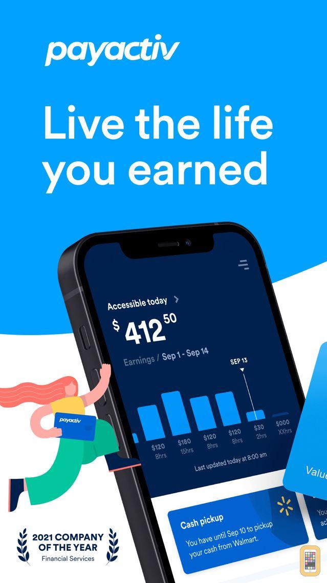 Screenshot - PayActiv - Earned Wage Access