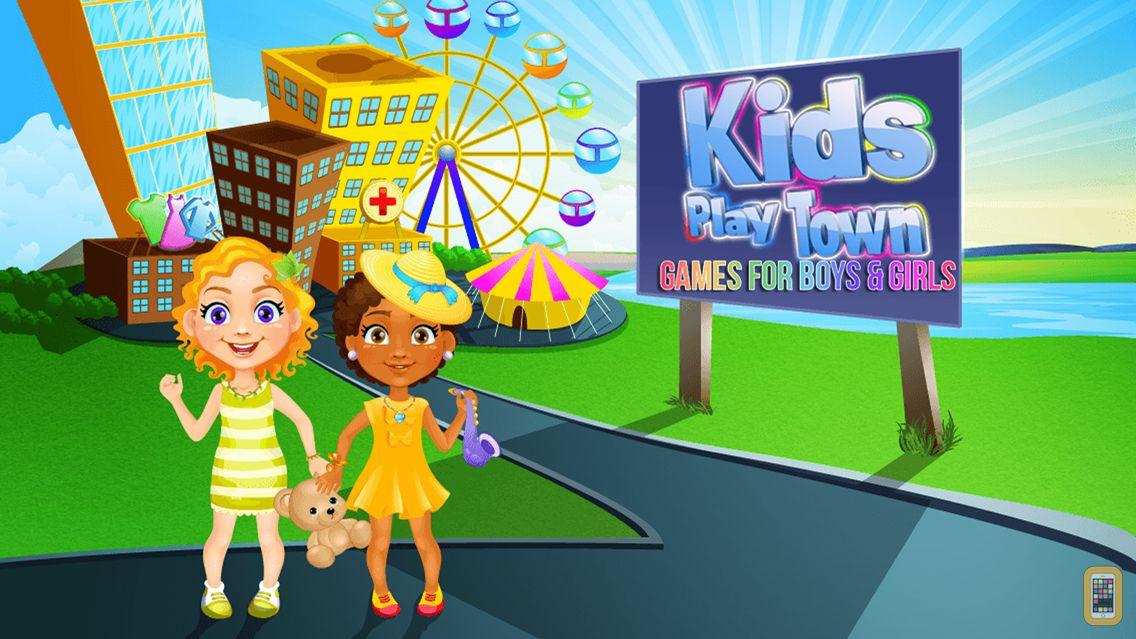 Screenshot - Kids Play Town