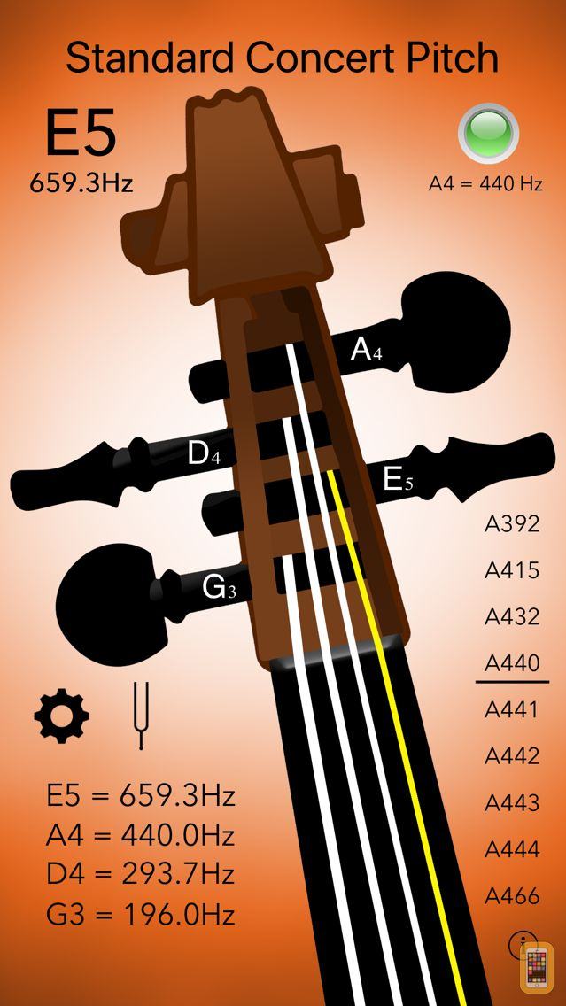 Screenshot - Violin Tuner Professional