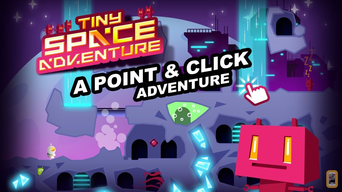 Screenshot - Tiny Space Adventure - A Point & Click Game
