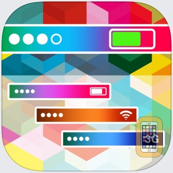 Pimp My Status Bar - Custom Top Bar Wallpapers and Colorful Backgrounds for Home Screen & Lock Screen by Amit Chowdhury (Universal)