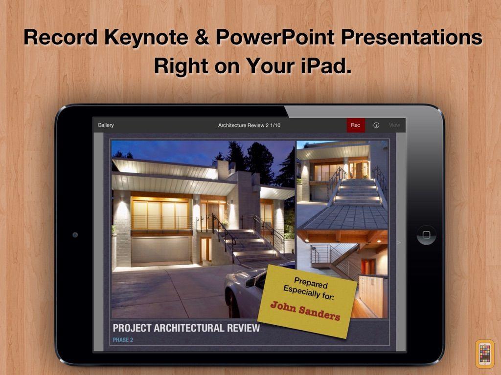 Screenshot - Presentation Recorder