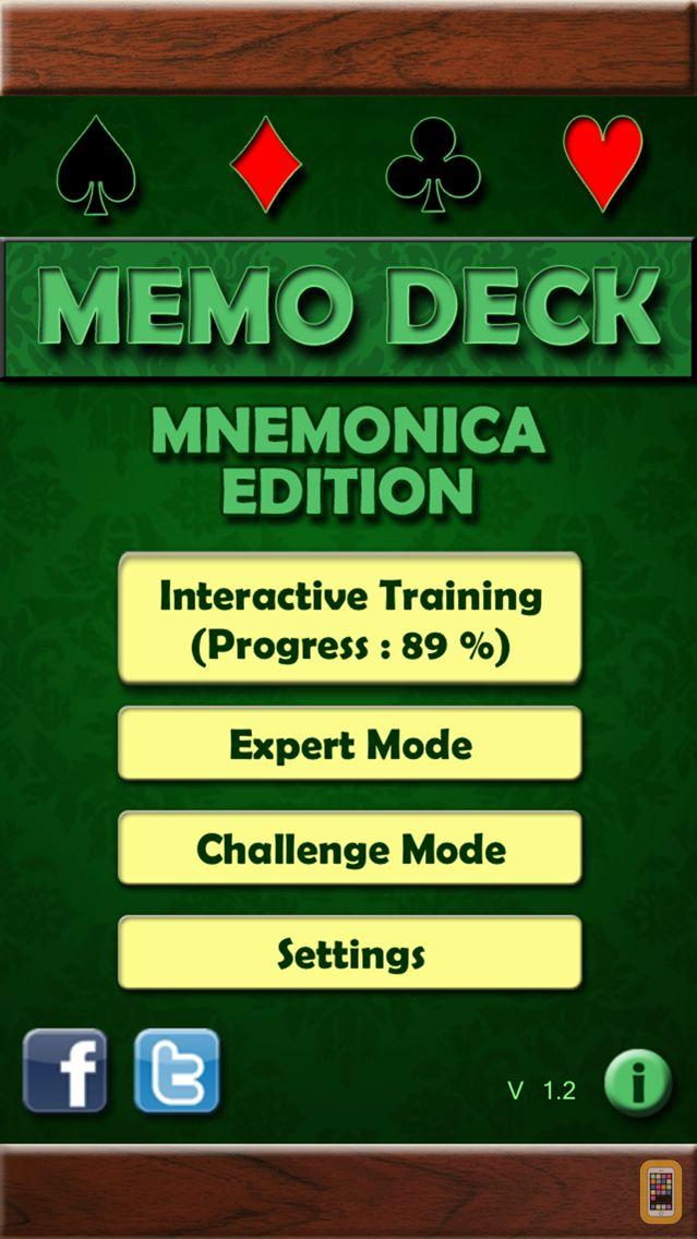 Screenshot - Memo Deck (Mnemonica Edition)