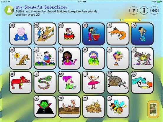 Screenshot - Speech Sounds For Kids - USA
