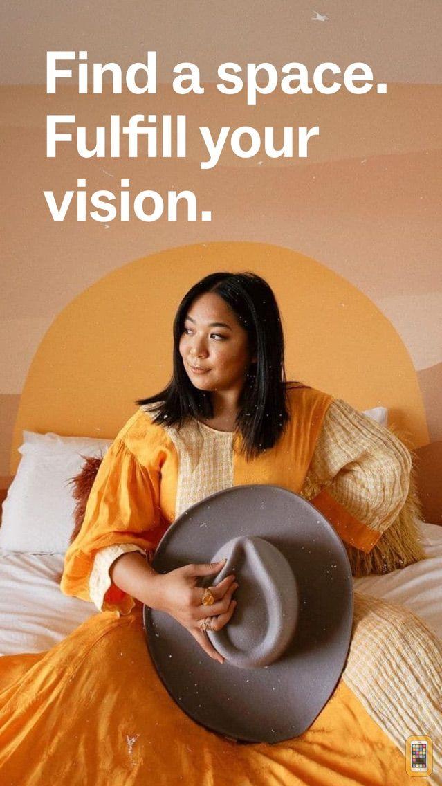 Screenshot - PeerSpace App