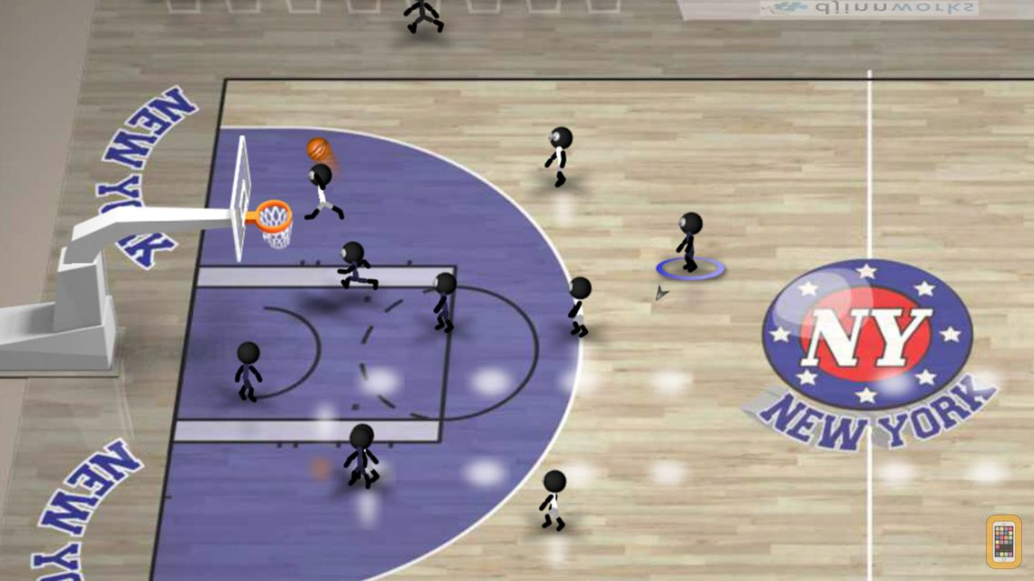 Screenshot - Stickman Basketball