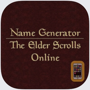 Name Generator for The Elder Scrolls Online by Alexander Sanning (iPhone)
