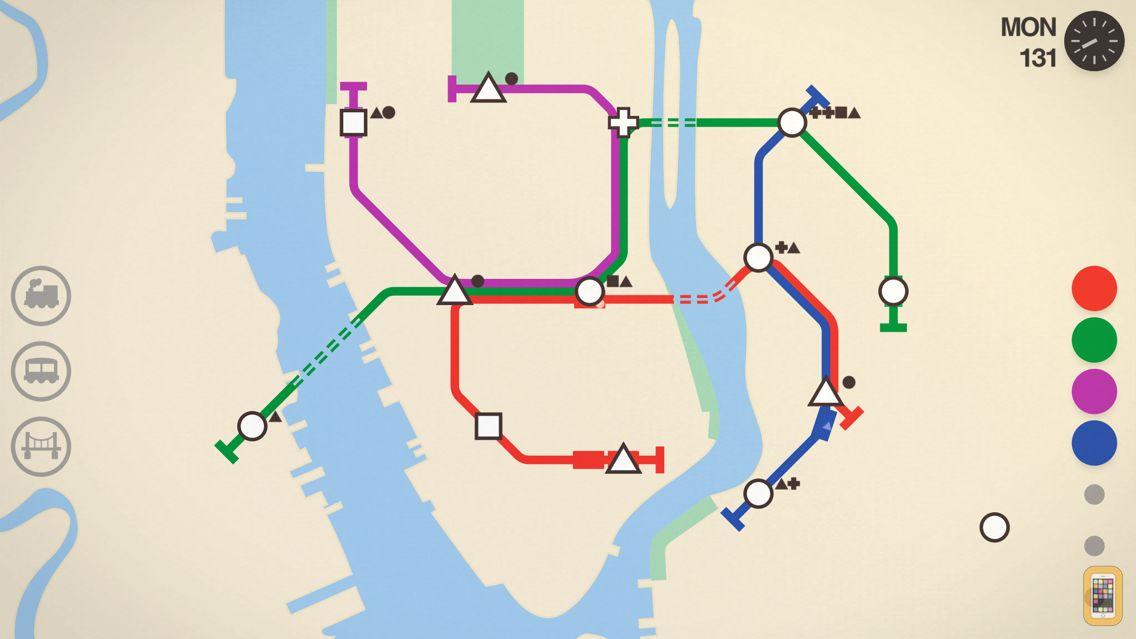 Screenshot - Mini Metro