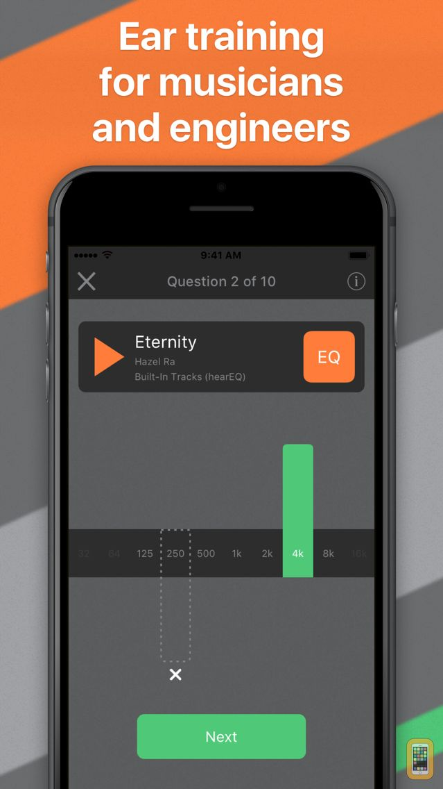 Screenshot - hearEQ: Ear training for EQ