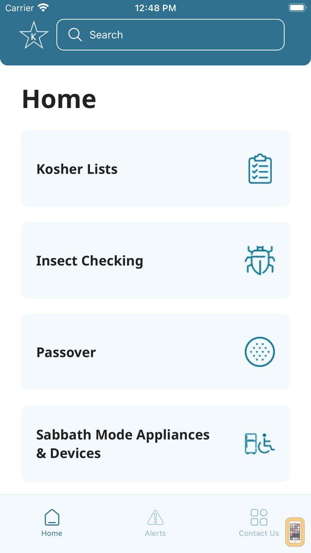 Screenshot - Star-K Passover Directory
