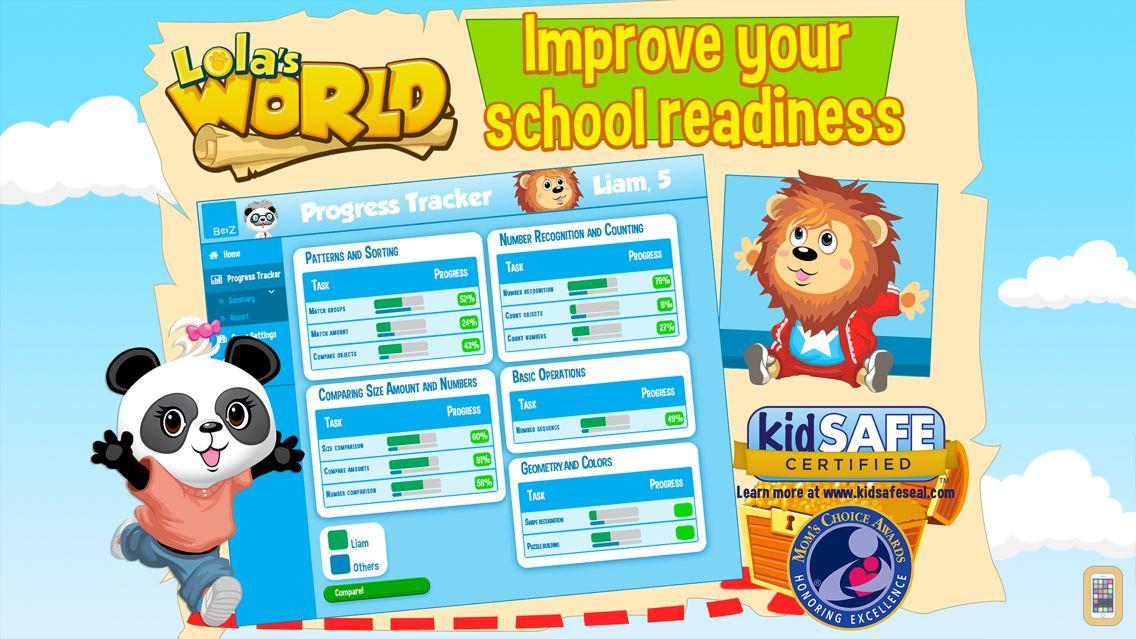 Screenshot - Lola's World - Get School Ready