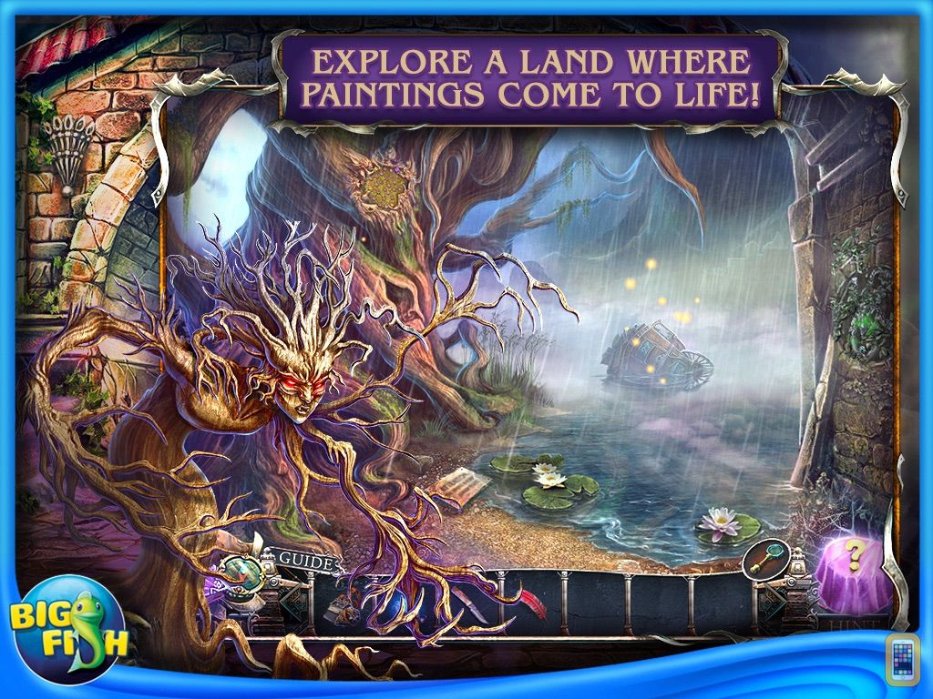 Screenshot - Bridge to Another World: Burnt Dreams HD - Hidden Objects, Adventure & Mystery