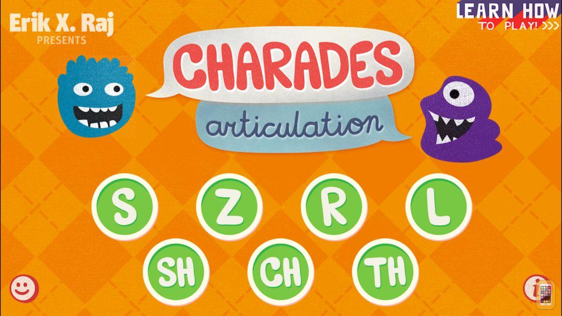 Screenshot - Charades Articulation