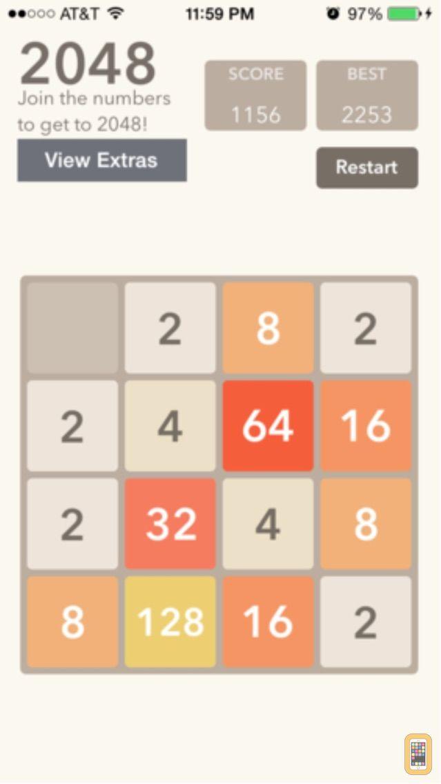 Screenshot - 2048 Slider