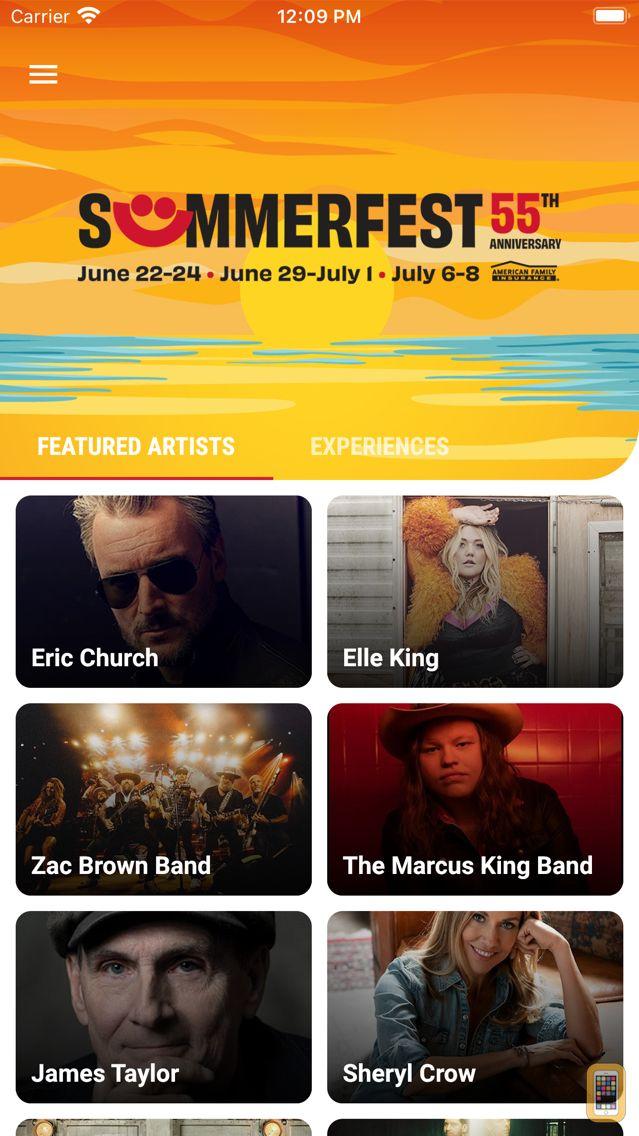 Screenshot - Official Summerfest 2018 App