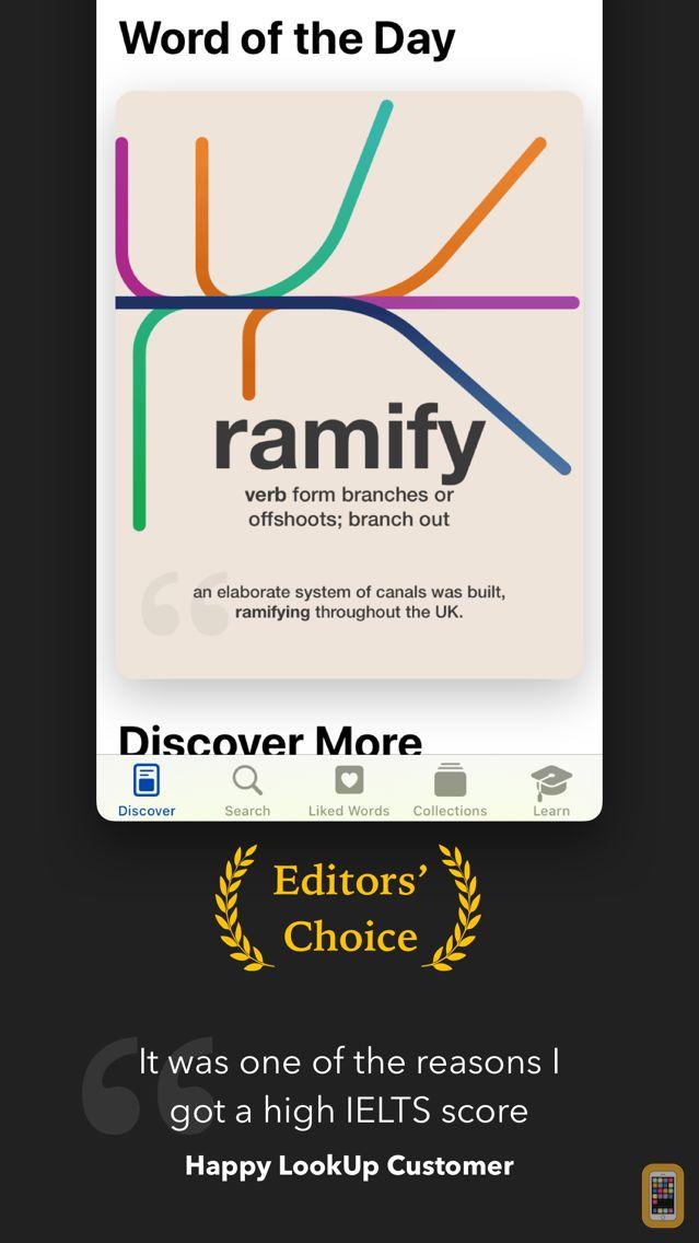 Screenshot - LookUp: English dictionary