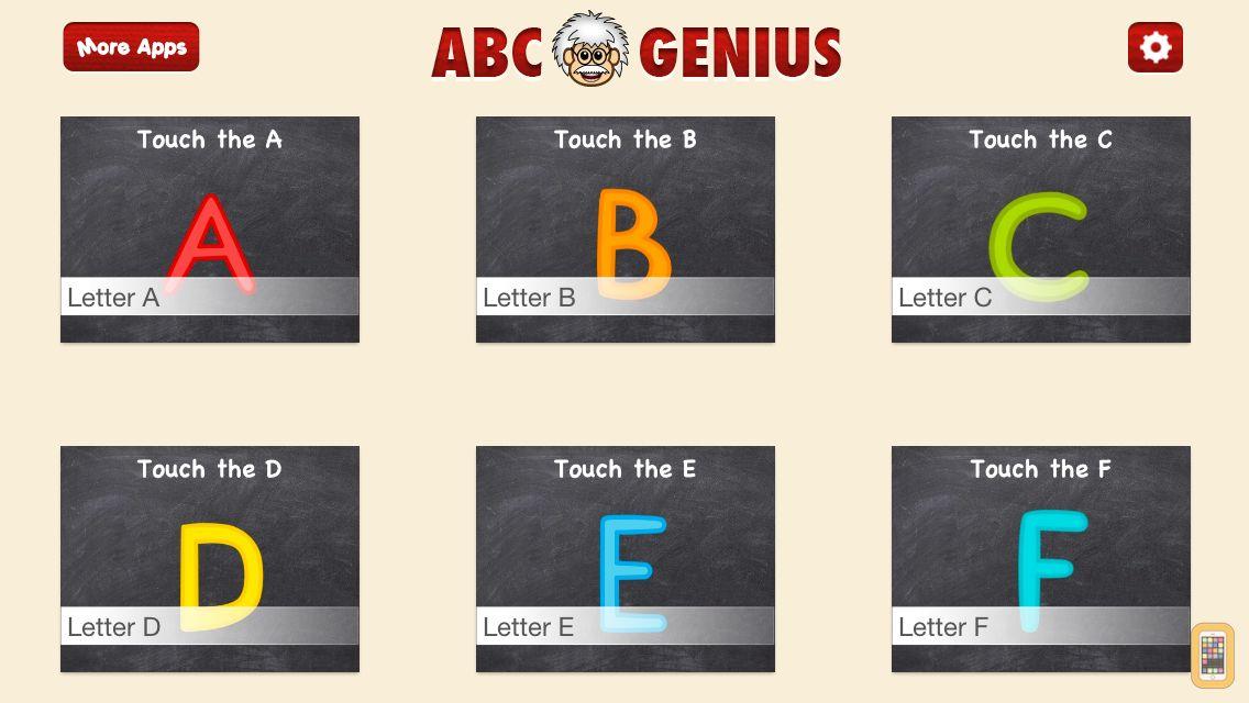 Screenshot - ABC Genius PRO - Alphabet Letters, Phonics, and Handwriting Games