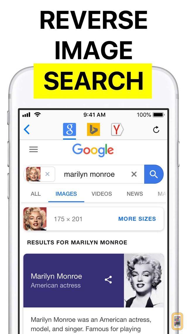 Screenshot - Reversee: Reverse Image Search