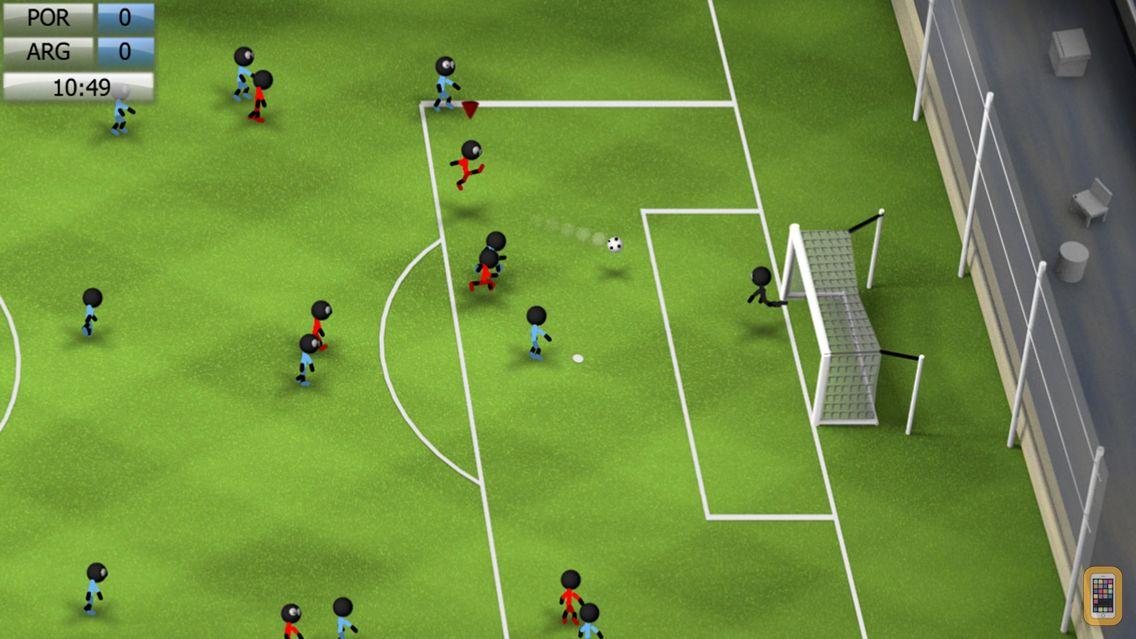 Screenshot - Stickman Soccer 2014