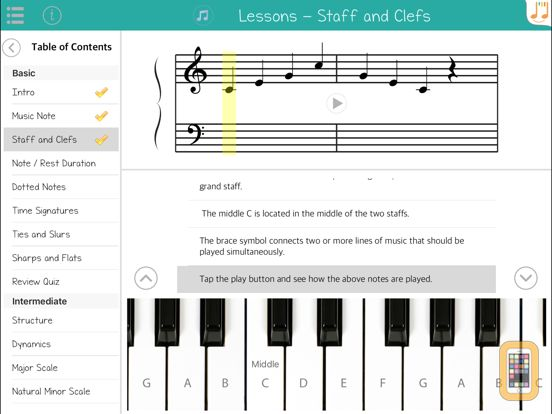 Screenshot - Music Theory Tutor