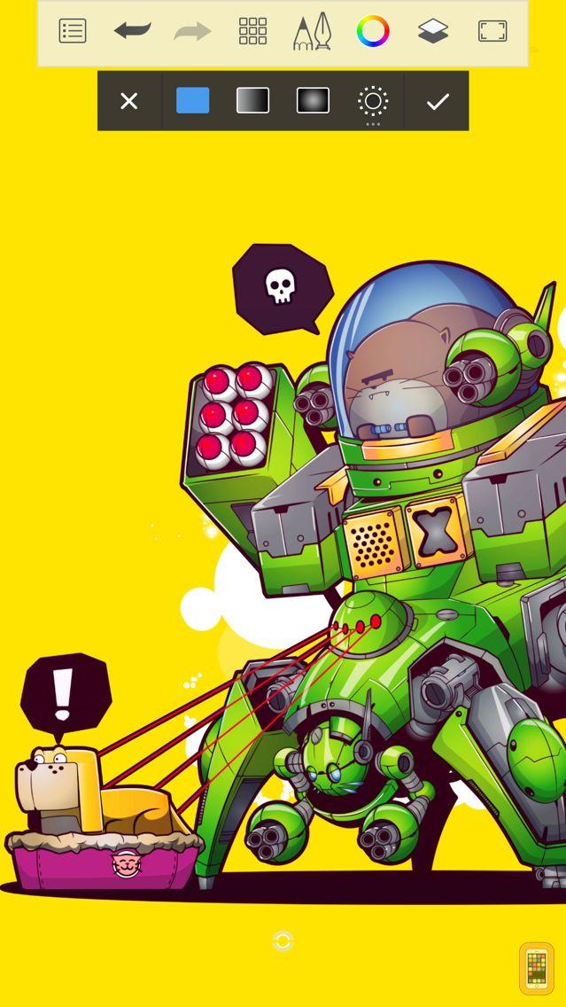 Screenshot - Autodesk SketchBook