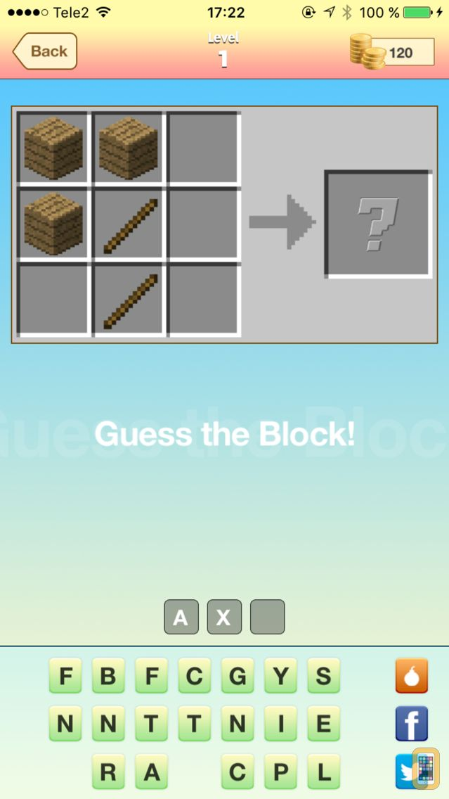 Screenshot - Guess The Block - Brand new quiz game for Minecraft