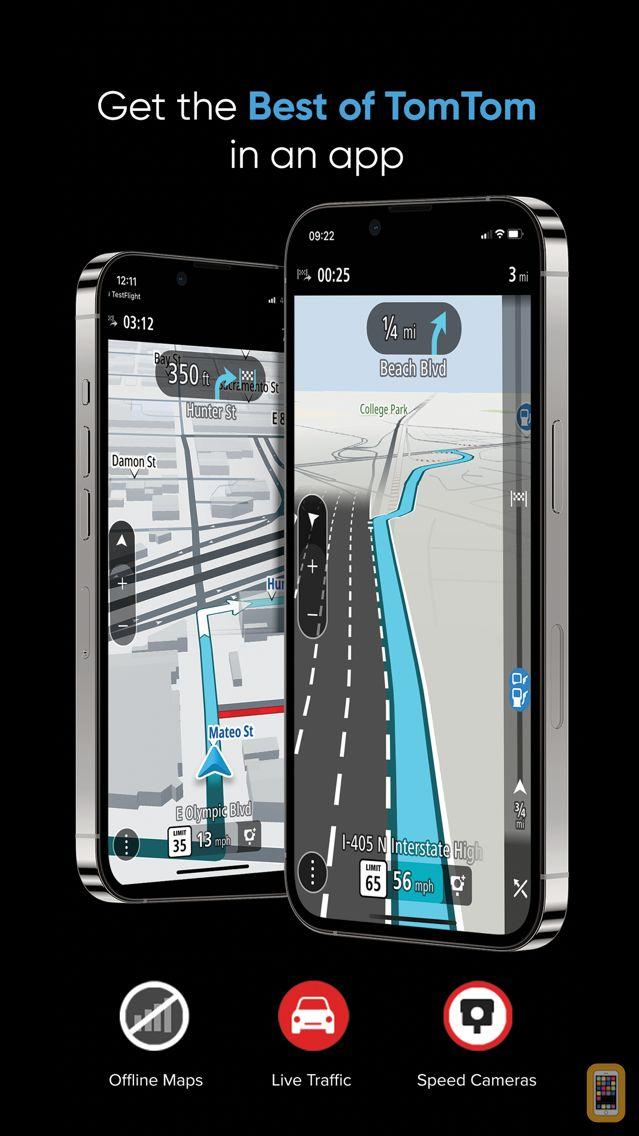 Screenshot - TomTom GO Navigation