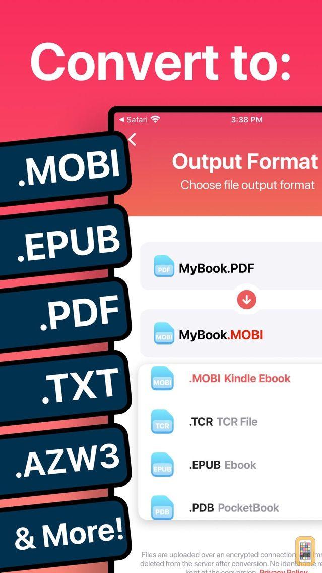 Screenshot - The Ebook Converter