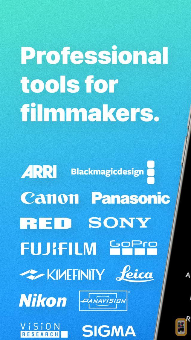 Screenshot - Cameras + Formats