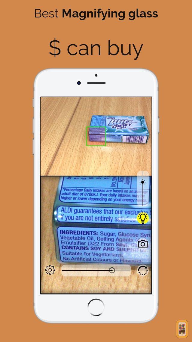 Screenshot - Magnifying glass HD