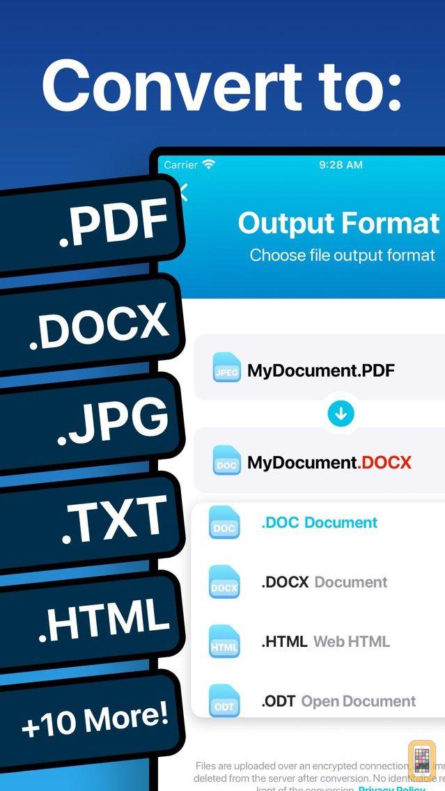 Screenshot - The Document Converter