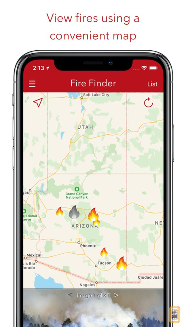 Screenshot - Fire Finder - Wildfire Info