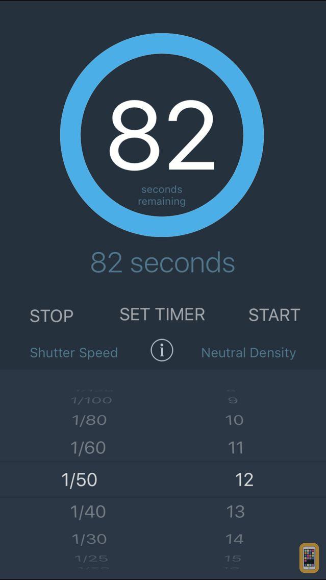 Screenshot - Slower Shutter Exposure Calc