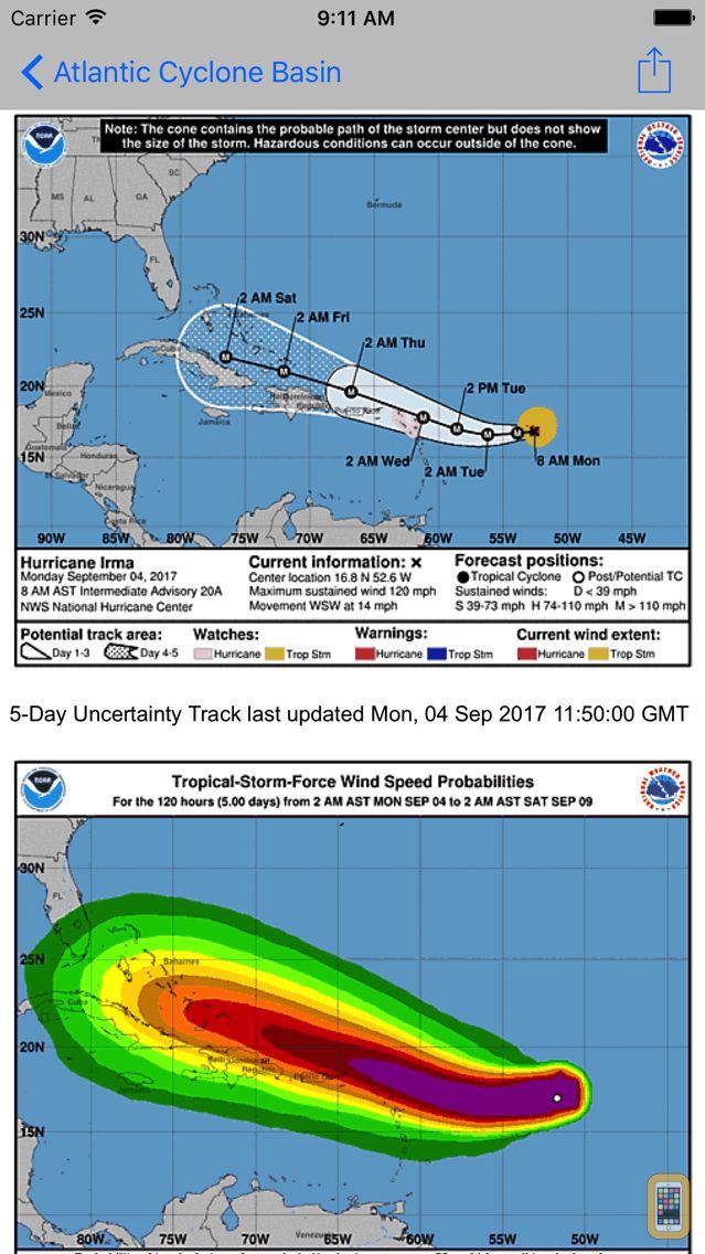 Screenshot - global storms pro