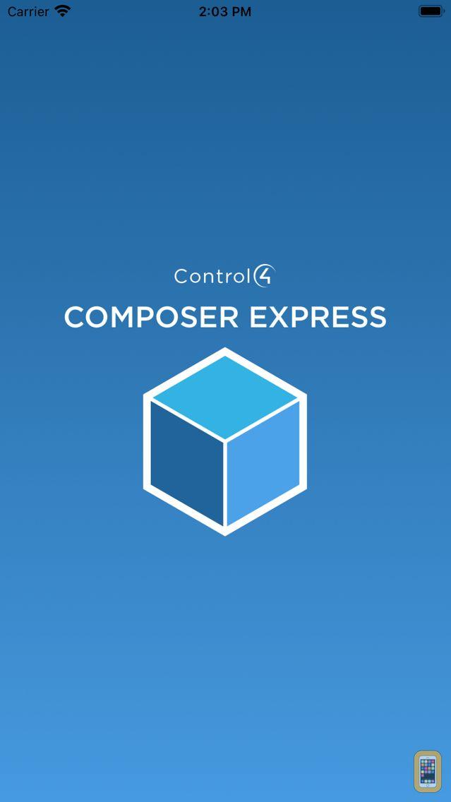Screenshot - Control4® Composer Express
