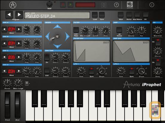 Screenshot - iProphet Synthesizer