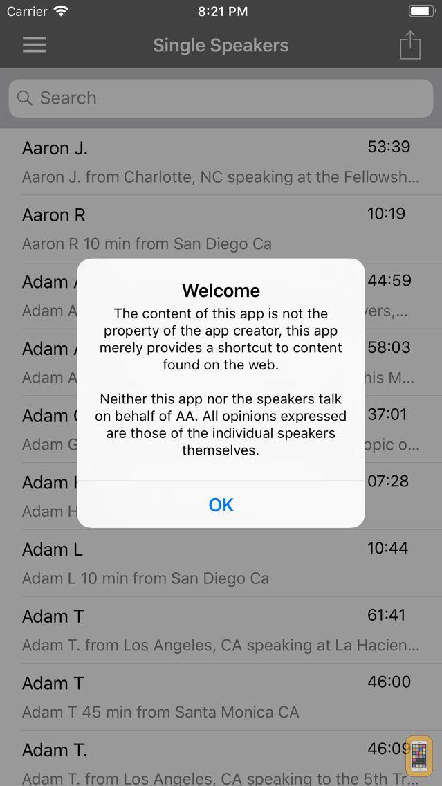 Screenshot - AA Speakers - Speaker Tapes
