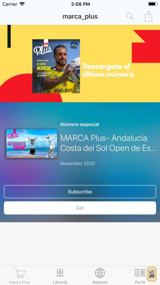 Screenshot - Marca Plus