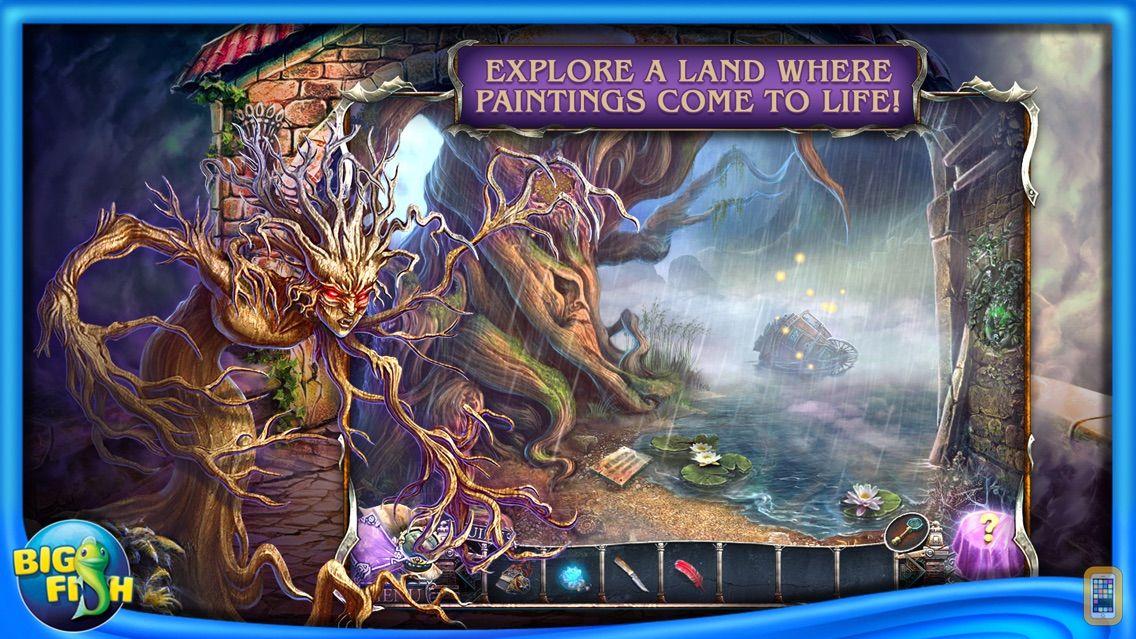 Screenshot - Bridge to Another World: Burnt Dreams - Hidden Objects, Adventure & Mystery (Full)