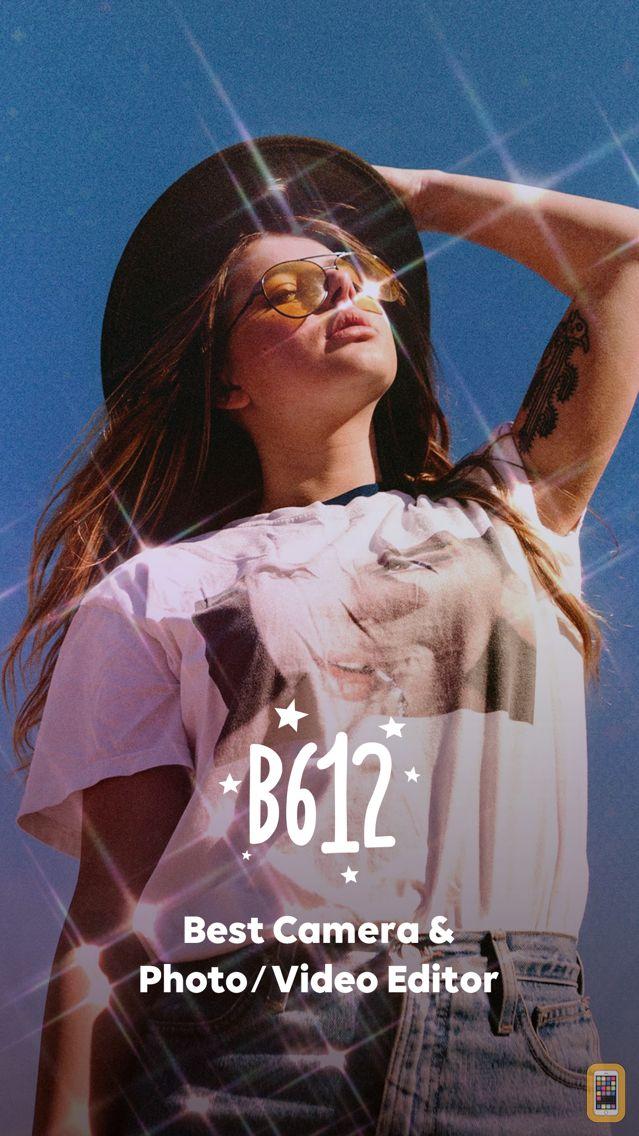 Screenshot - B612 - Beauty & Filter Camera