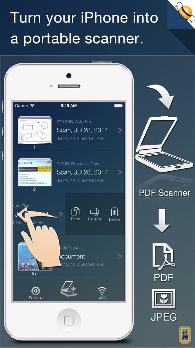 Screenshot - Quick Scan - Photo to PDF Document Scanner