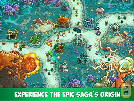 Screenshot - Kingdom Rush Origins HD