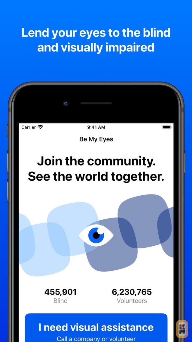 Screenshot - Be My Eyes