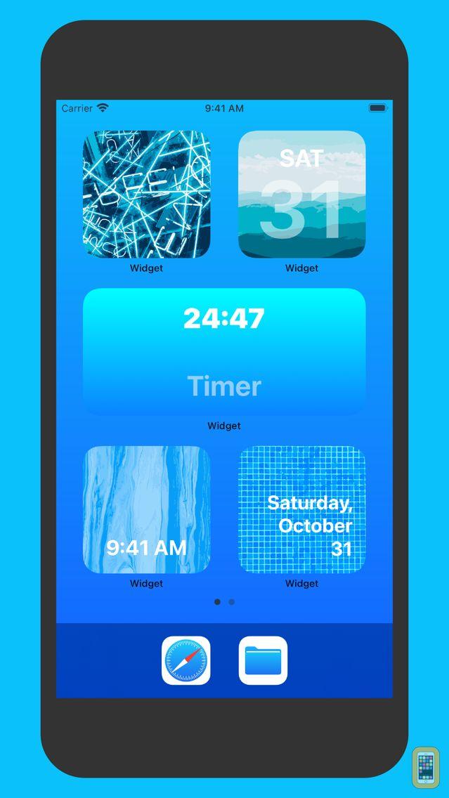 Screenshot - Widget - Add Custom Widgets to Notification Center (Today View)