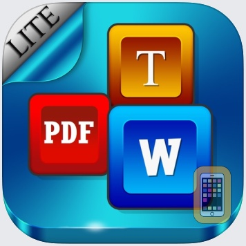 Document Writer - Word Processor and Reader for Microsoft Office - Personal Edition by Mindspeak Software (Universal)
