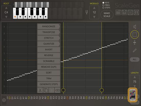 Screenshot - ScaleGen