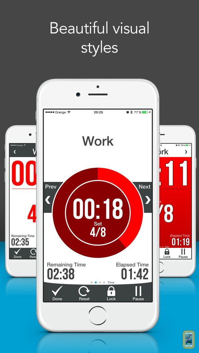 Screenshot - Workout Interval Timer Pro - Free